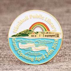Library Custom Lapel Pins