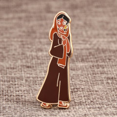 Cartoon Girl Custom Pins