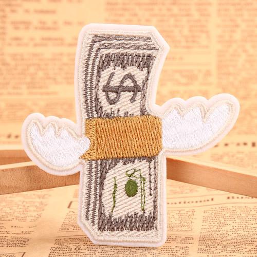 US Dollar Custom Cheap Patches