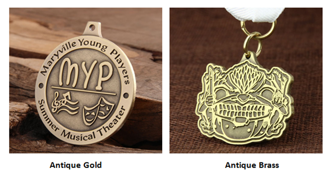 Custom Antique Medals