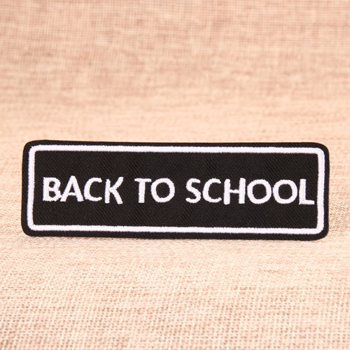 School Embroidered Patches
