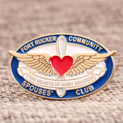 Spouses Club Lapel Pins
