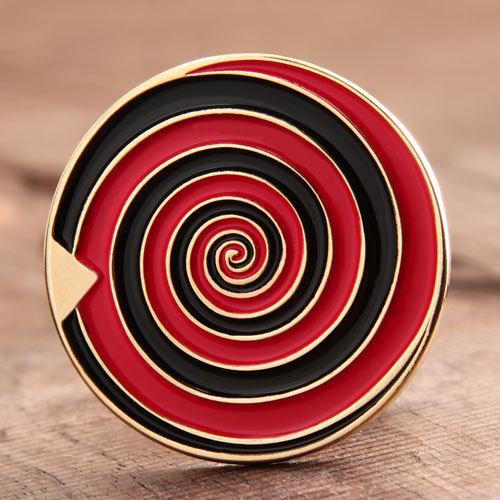 Spiral Lapel Pins
