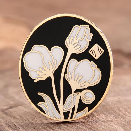 Flower Custom Pins