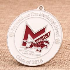 Martin High School Custom Medals