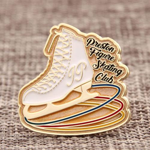 Skating Club Custom Pins