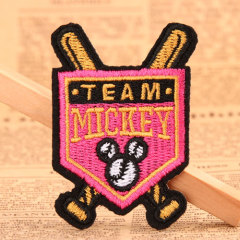 Team Custom Embroidered Patches