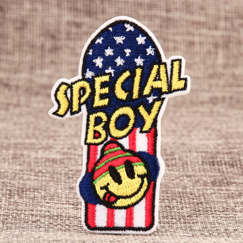 Special Boy Custom Patches