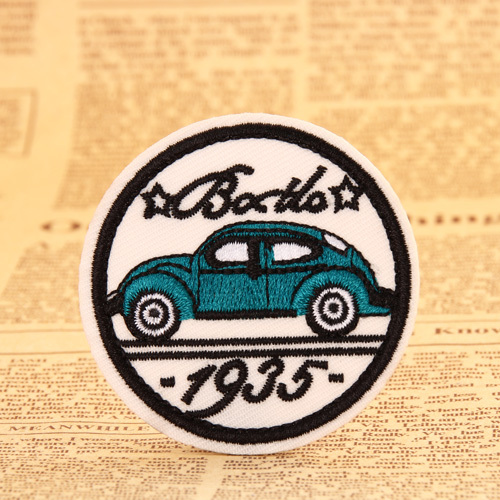 Car Embroidered Patches