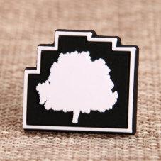 Tree PVC Lapel Pin