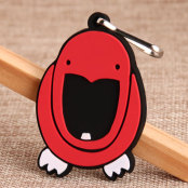 Laughing Bird PVC Zipper Pull