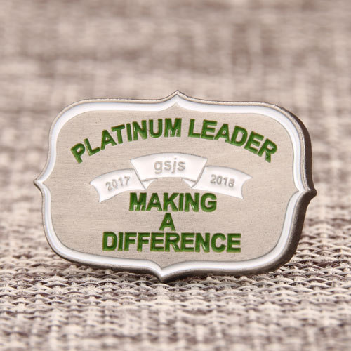 Platinum Leader Custom Pins