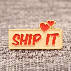 SHIP IT Custom Enamel Pins