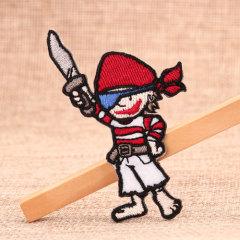 Ninja Custom Embroidered Patches No Minimum
