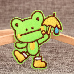 Lovely Frog Custom Patches
