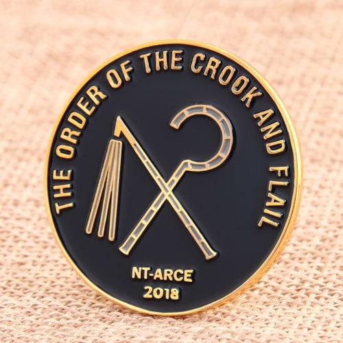 NT-ARCE Custom Lapel Pins