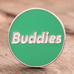 Buddies Custom Enamel Pins