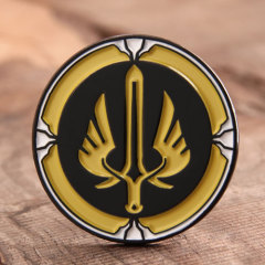 Sword with Wings Custom Pins