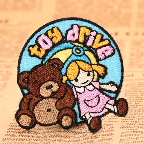 Toy Embroidered Patches