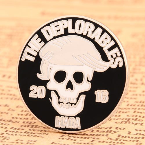The Deplorables Custom Pins