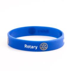 Rotary custom Wristbands