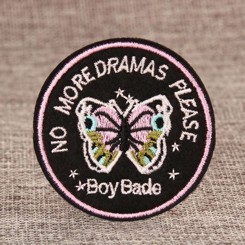 Small Butterfly Custom Patches