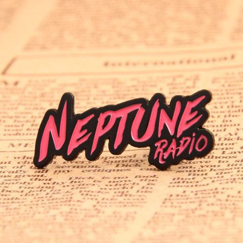 Neptune Radio Custom Pins