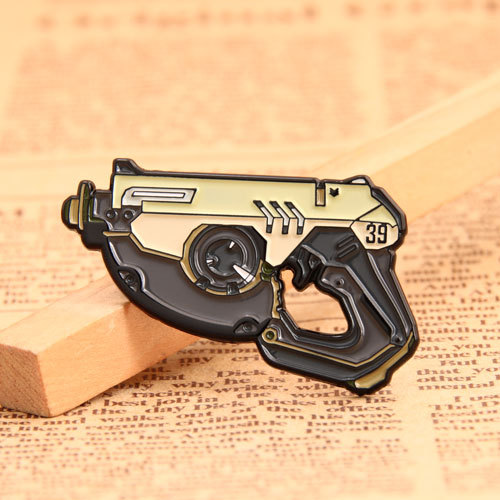 Toy Pistol Custom Metal Pins