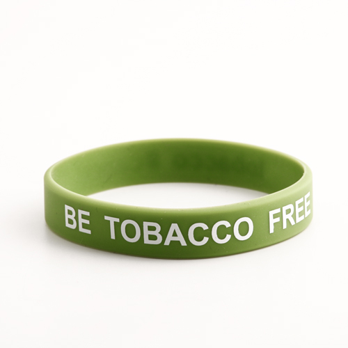 Be Tobacco Free wristbands