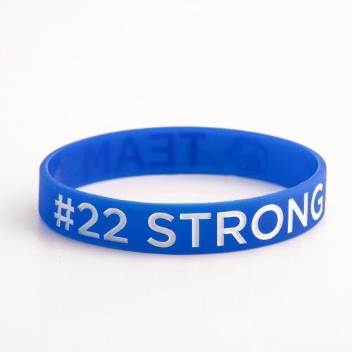 Team X&#22 Strong Wristbands