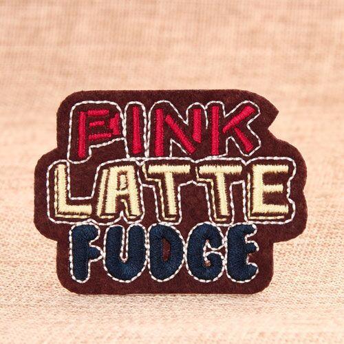 Pink Fudge Custom Patches