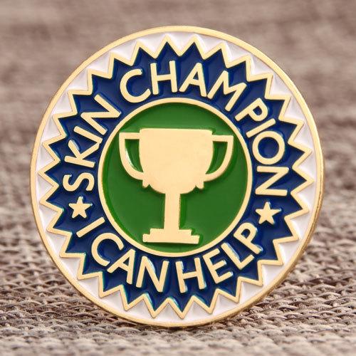 Champion Custom Enamel Pins