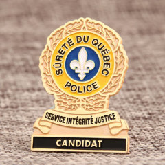 Police Custom Lapel Pins