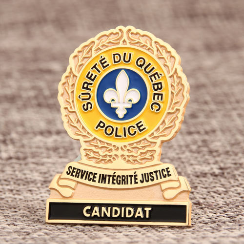 Police Custom Lapel Pins