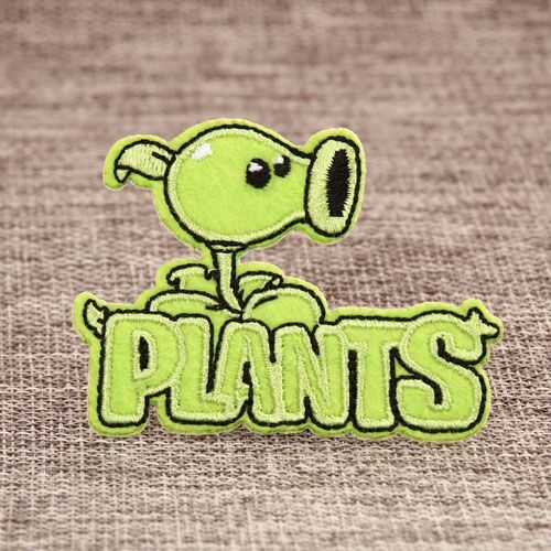 PLANTS Custom Embroidered Patches