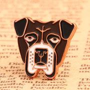 Frustrated Dog Custom Pins