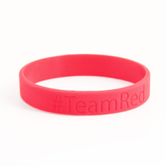 Team Red wristbands