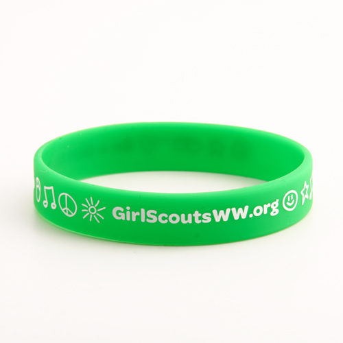 Girl Scout custom Wristbands