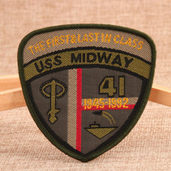 Midway Custom Woven Patches