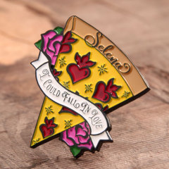 Pizza of Love Lapel Pins
