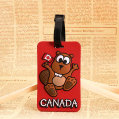Squirrel PVC Luggage Tag
