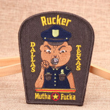 Rucker Custom Embroidered Patches