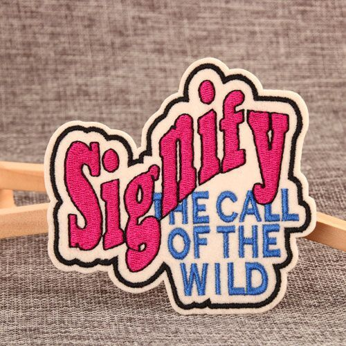 Signify Custom Embroidered Patches