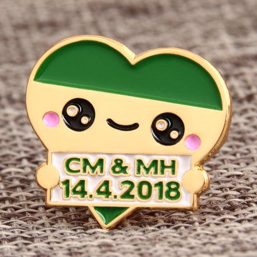CM and MH Custom Lapel Pins