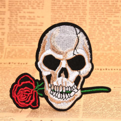 Skull Custom Embroidered Patches
