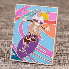Surfing Custom Lapel Pins