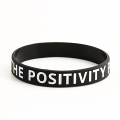 The Positivity Project Wristbands