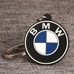 BMW Logo PVC Keychain