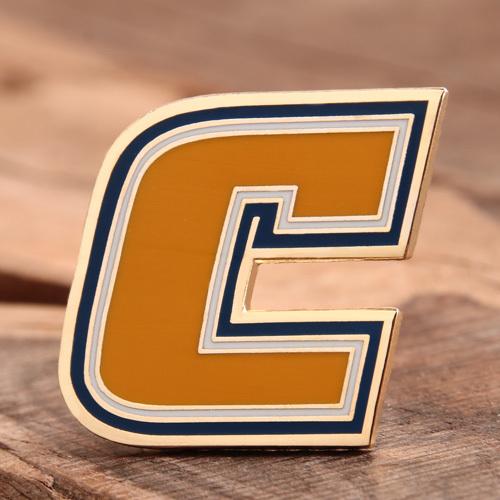 Letter C Custom Lapel Pins