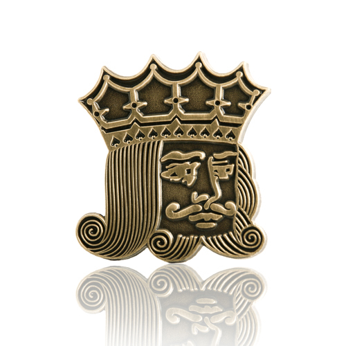 Playing Cards King Lapel Pins